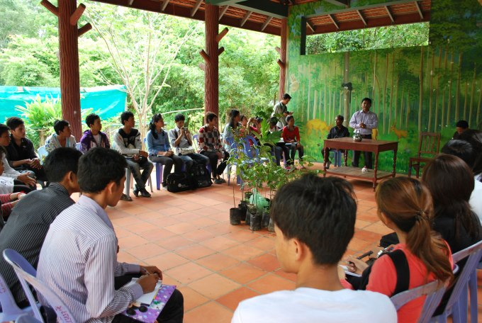 YRDP staff and Trained youth discussed about the important of tree and how share message to people about the envirnomental preservation