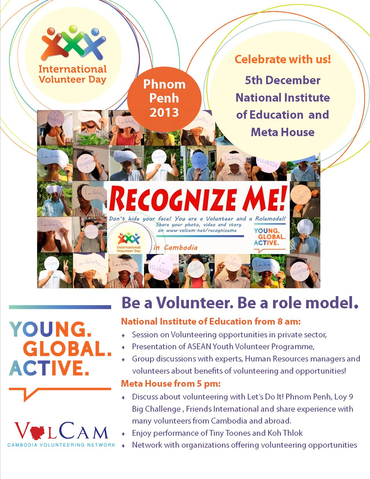 Join the International Volunteer Day 2013 in Cambodia ...