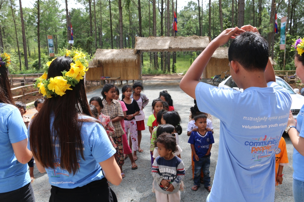 CAC interactive activities with children