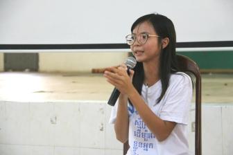 International Volunteer Day, Community Action Challenge, panel discussion, Ms. Monalisa Khun